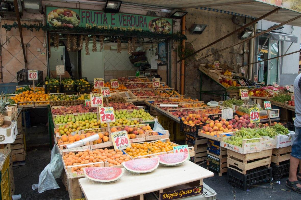 Fruit, Porta Nolana Market, Naples, Italy