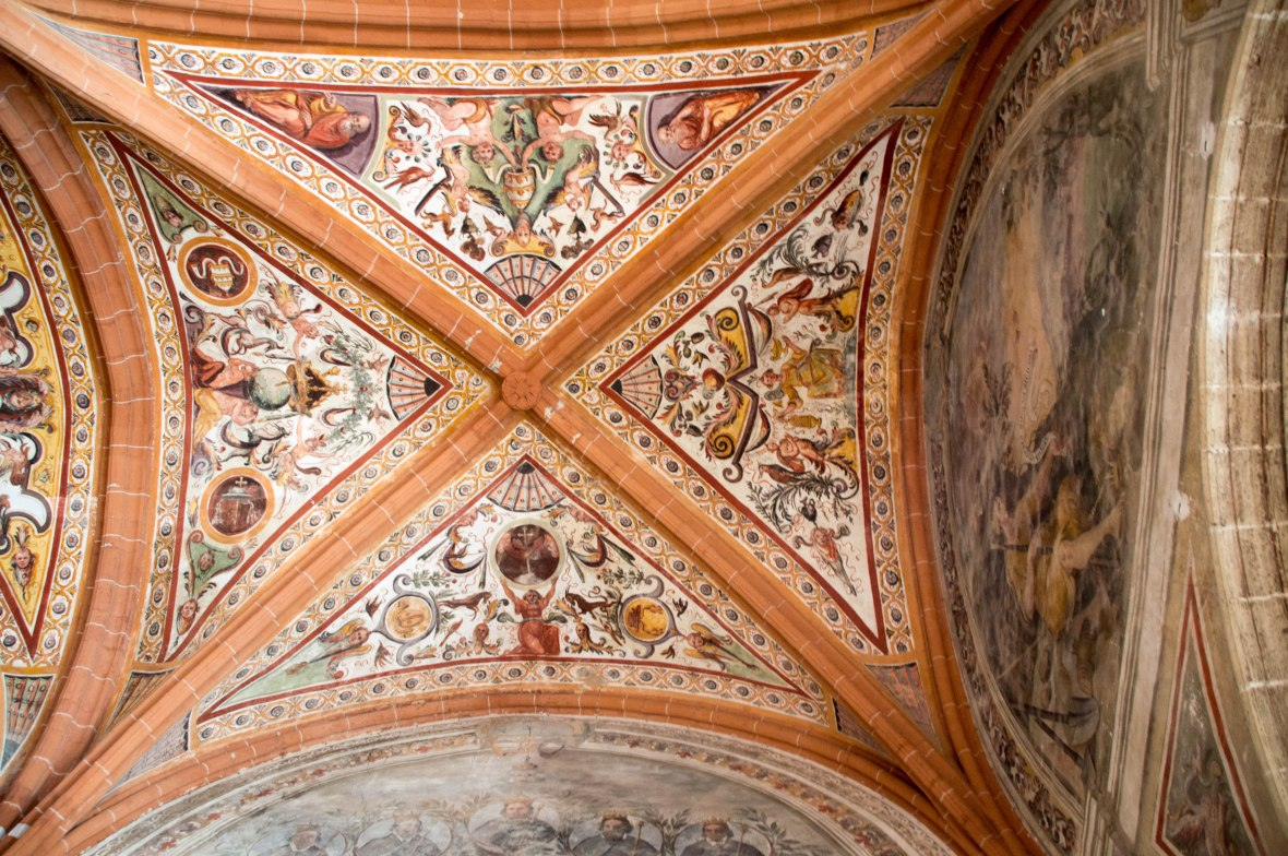 Looking Up, Chapter Hall, San Lorenzo Maggiore, Naples, Italy