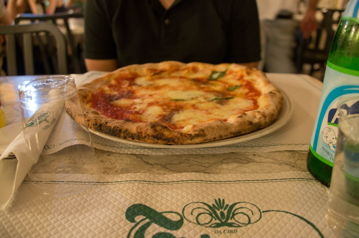 Margherita Pizza, Pizzeria Trianon, Naples, Italy