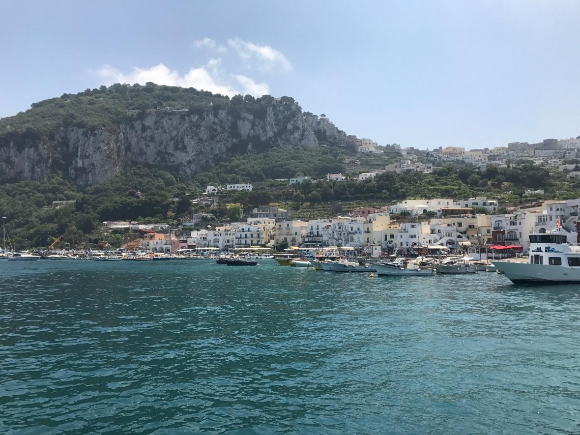 Marina Grande, Capri, Italy