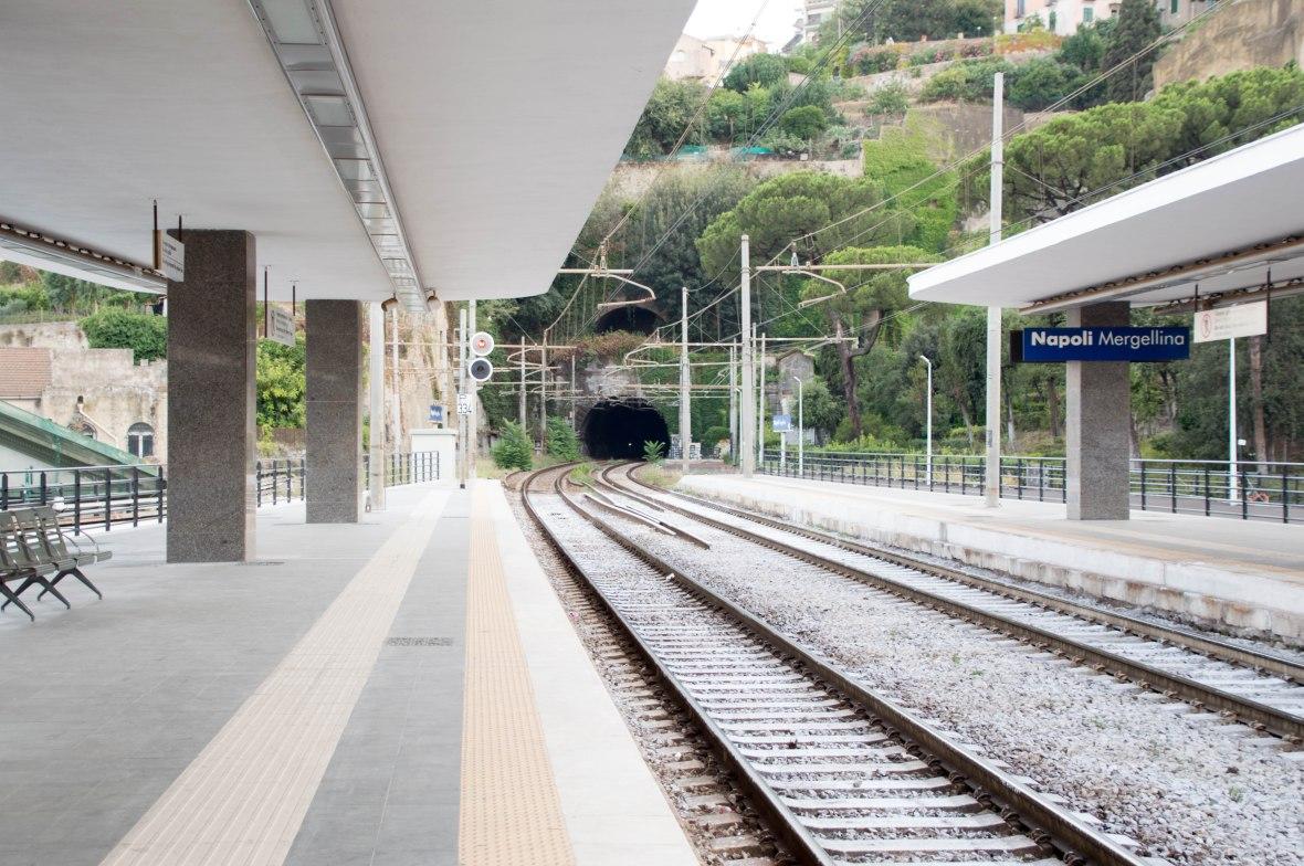 Napoli Mergellina Station, Naples, Italy