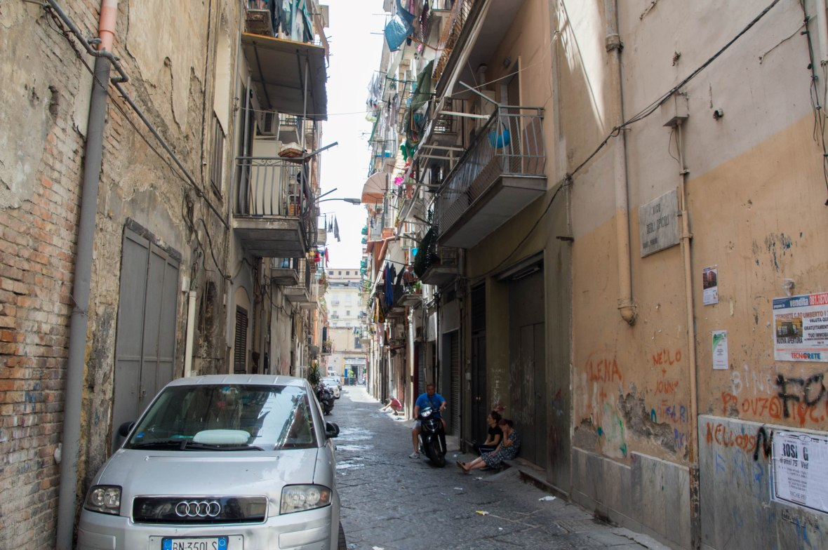 Residential Streets, Naples, Italy