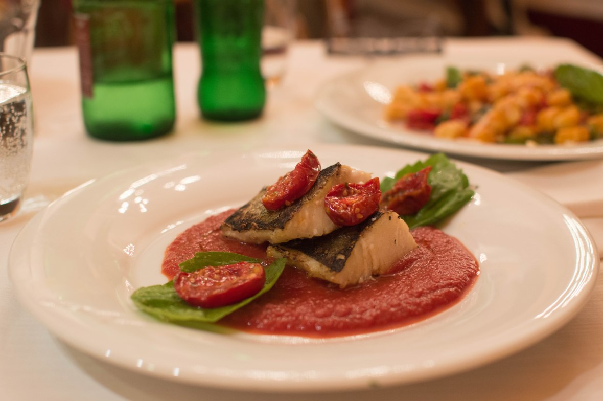 Salted Cod With Tomato Sauce, Umberto, Naples, Italy