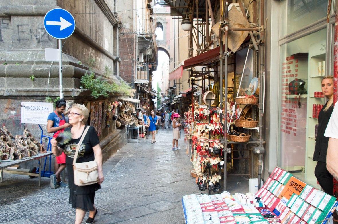 Street Market, Naples, Italy