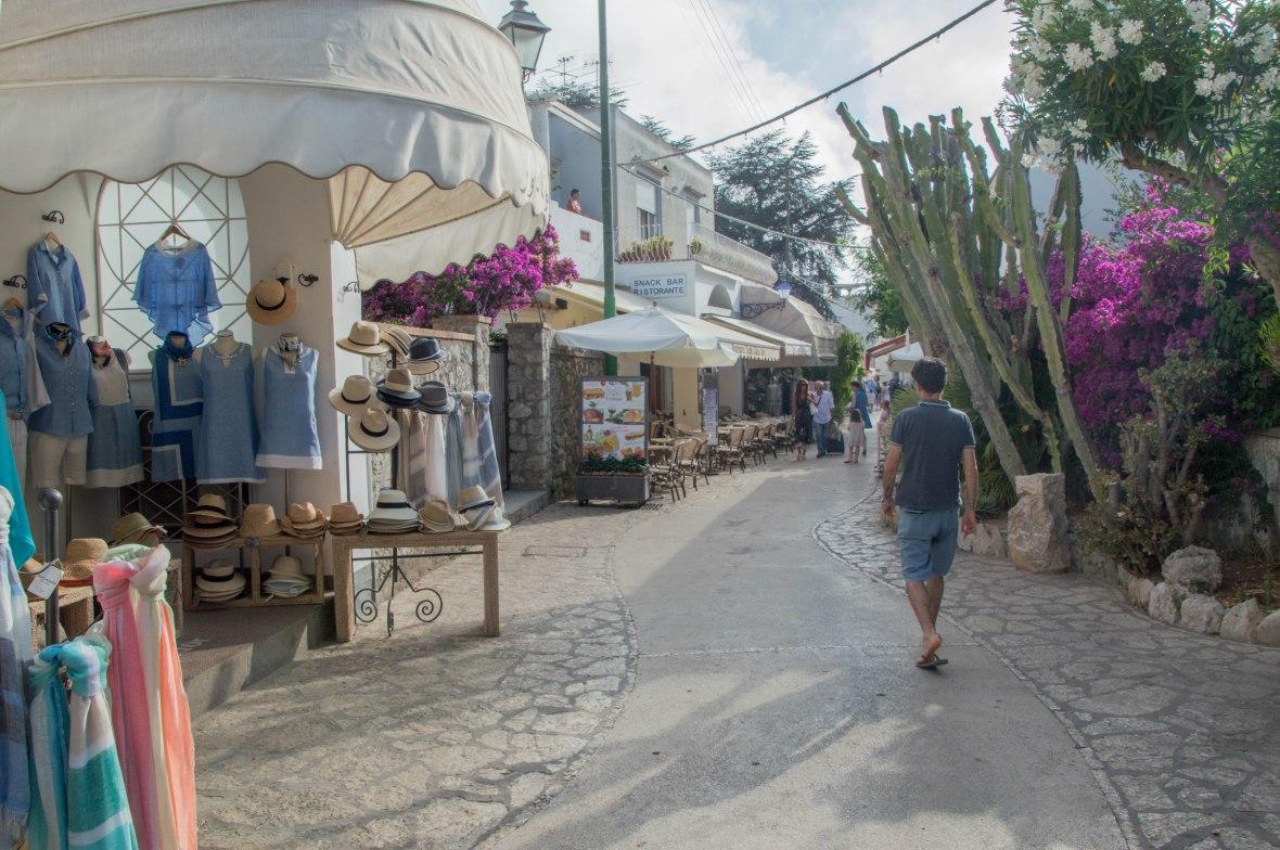 Streets Of Capri Town, Italy