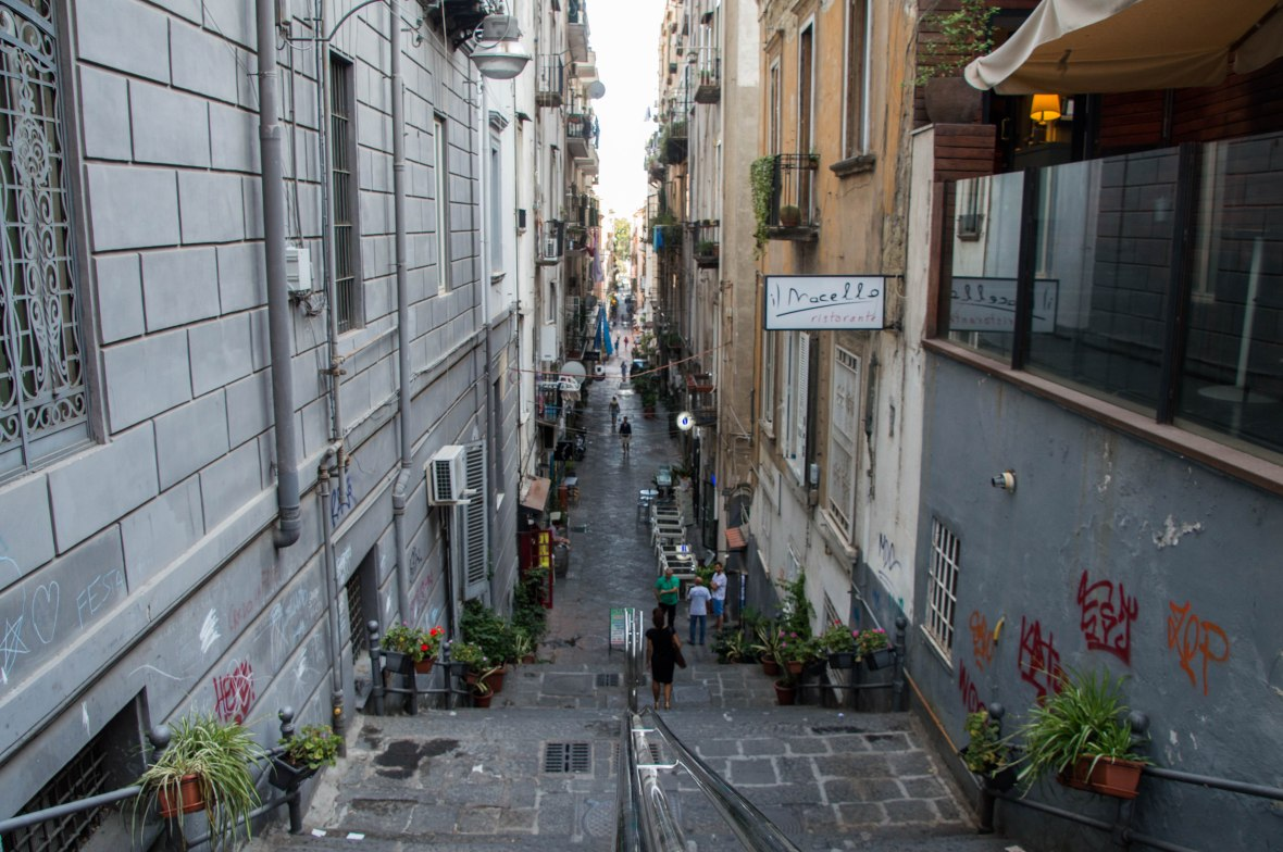 Via Vittoria Colonna, Naples, Italy