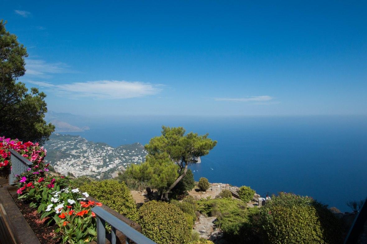 View Fom Cafe, Mt Solaro, Capri, Italy