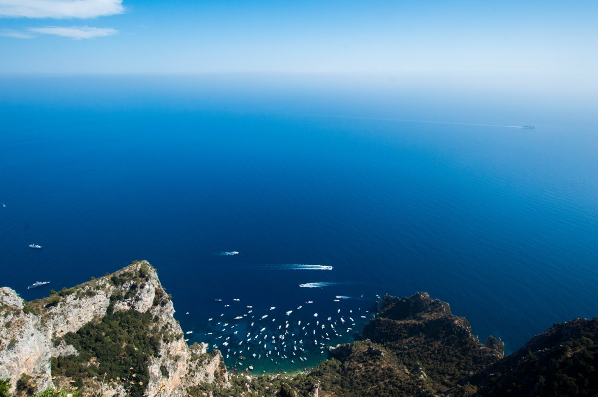 View From Mount Solaro, Capri, Italy