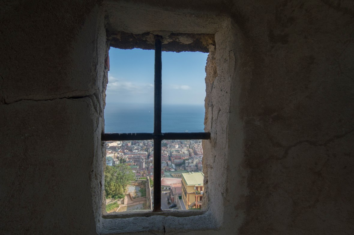 View From Window, Castel Sant'Elmo, Naples, Italy