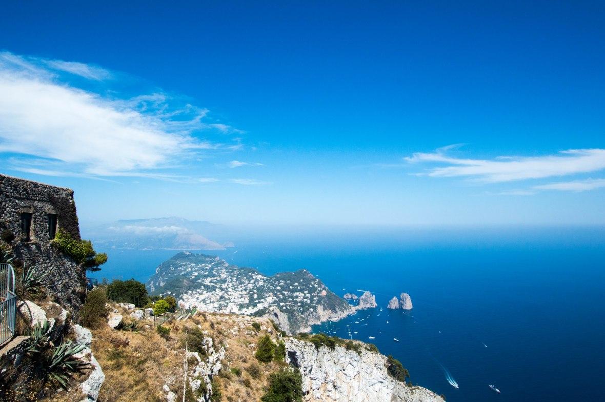 View, Mt Solaro, Capri, Italy