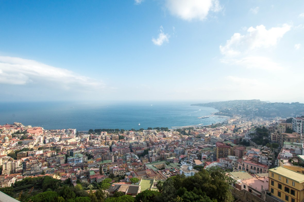 Views From Castel Sant'Elmo, Naples, Italy