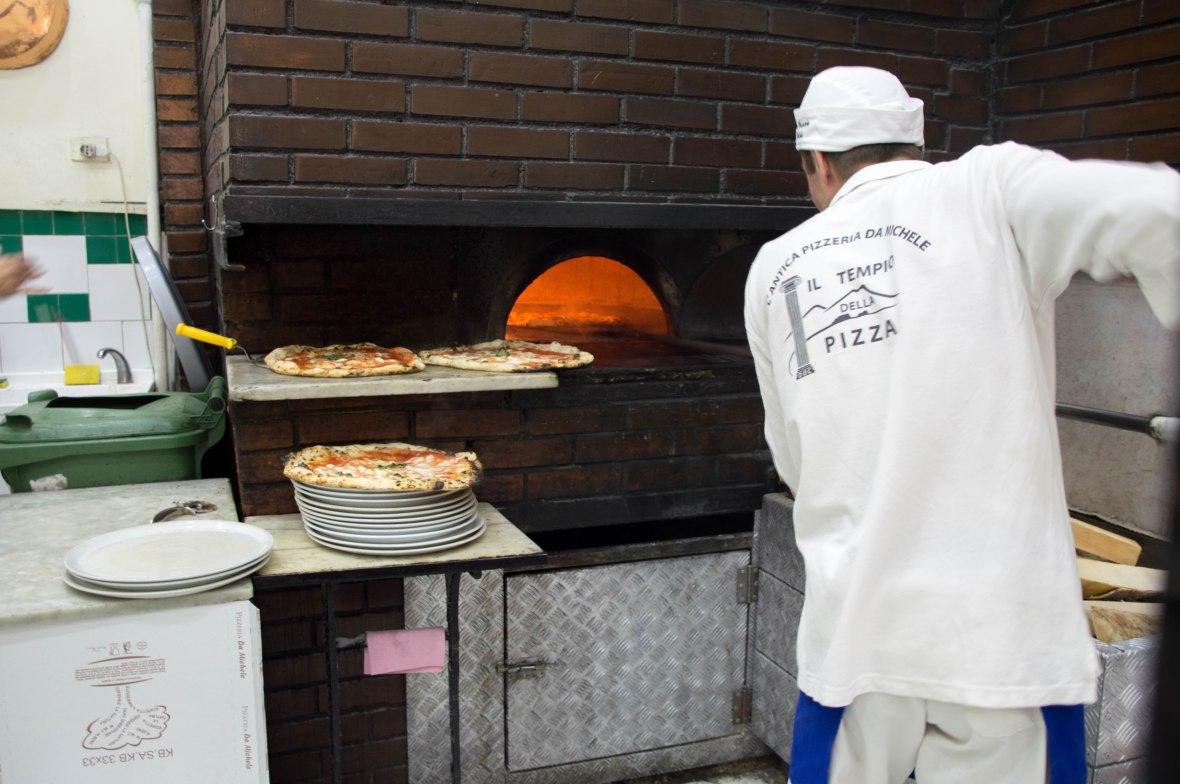 Woodfire Oven, L'Antica Pizzeria da Michele, Naples, Italy