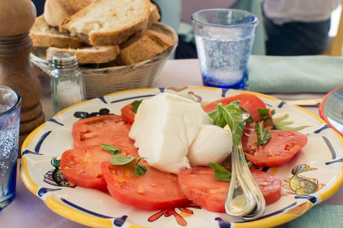 Caprese Salad, La Cambusa, Positano, Amalfi
