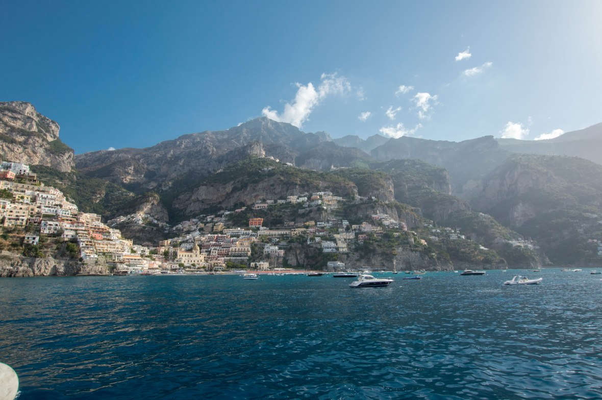 Coast Of Positano, Italy