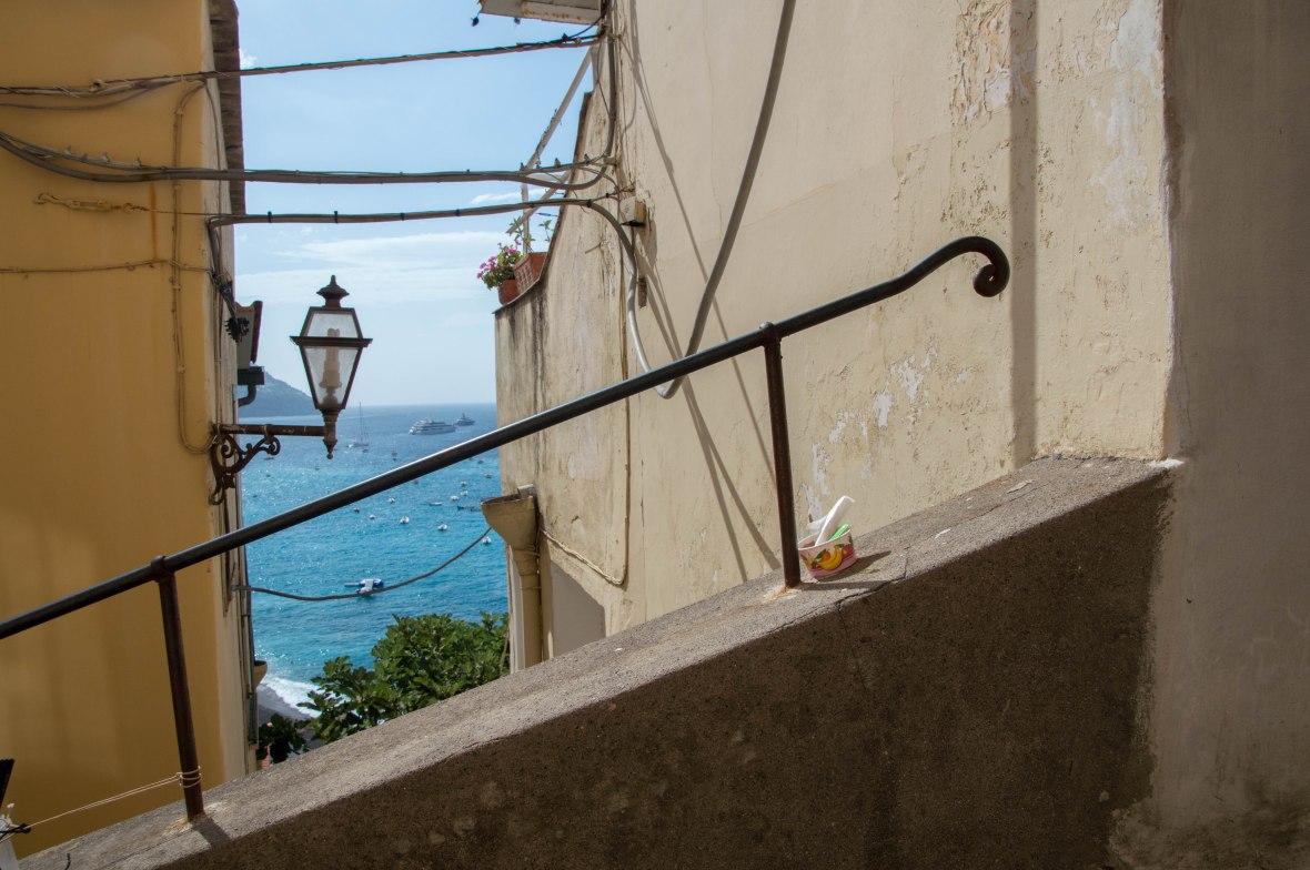 Exploring Positano, Italy