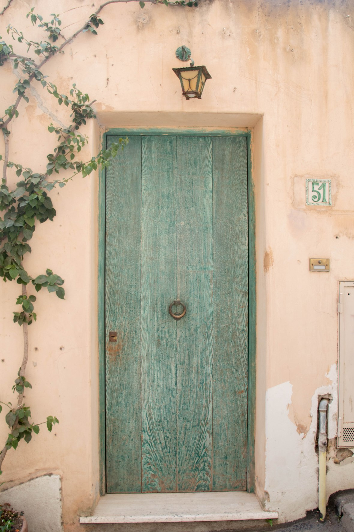 Front Door, Positano, Italy