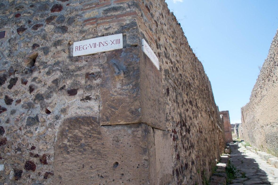 reg vii ins xiii, Pompeii, Italy