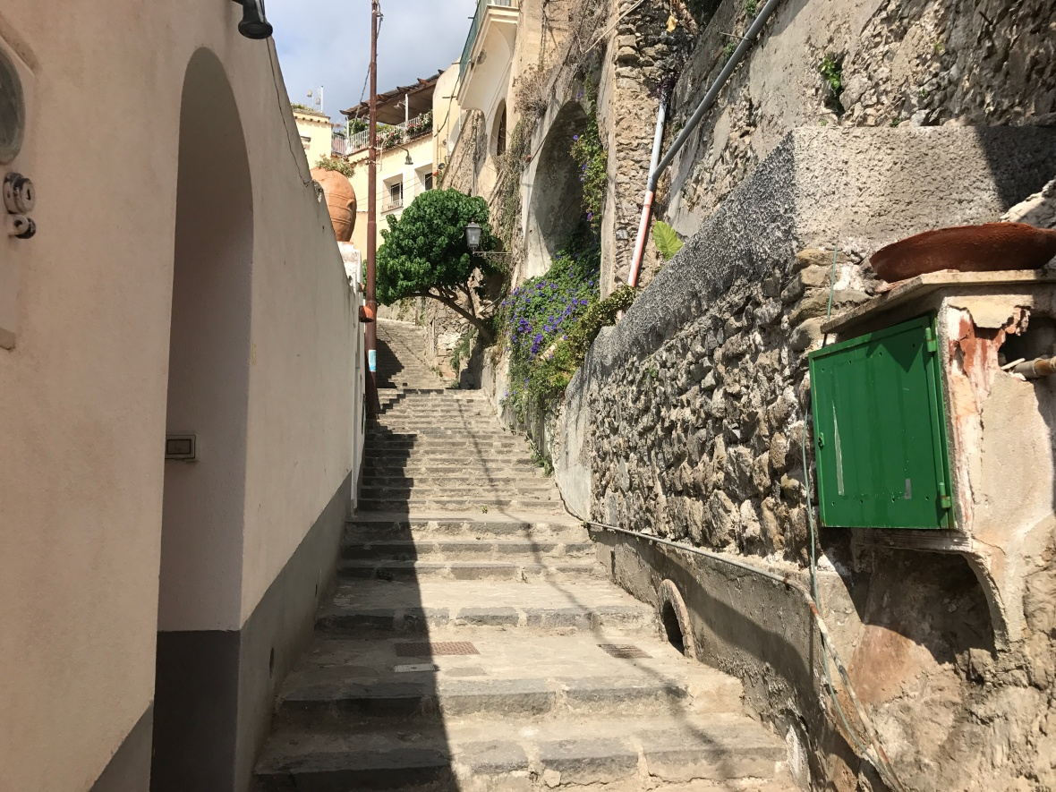 Stairs, Positano, Italy