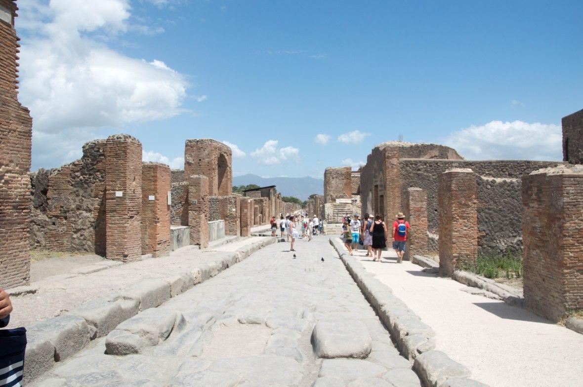 Streets Of Pompeii, Italy