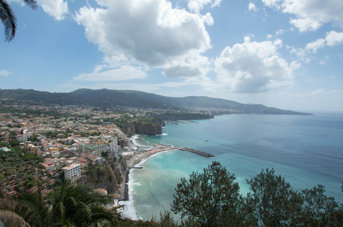 View Of Sorrento, Italy