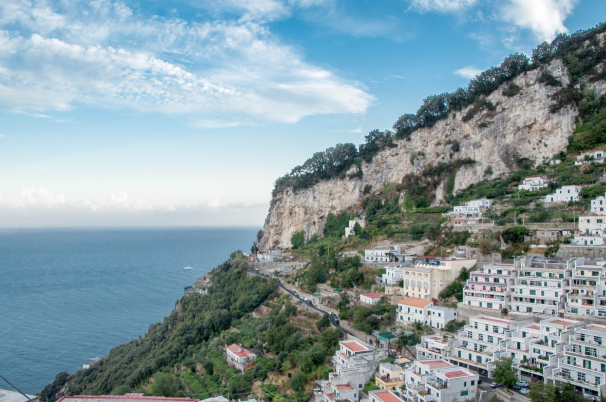 View Over Amalfi From Pogerola, Italy