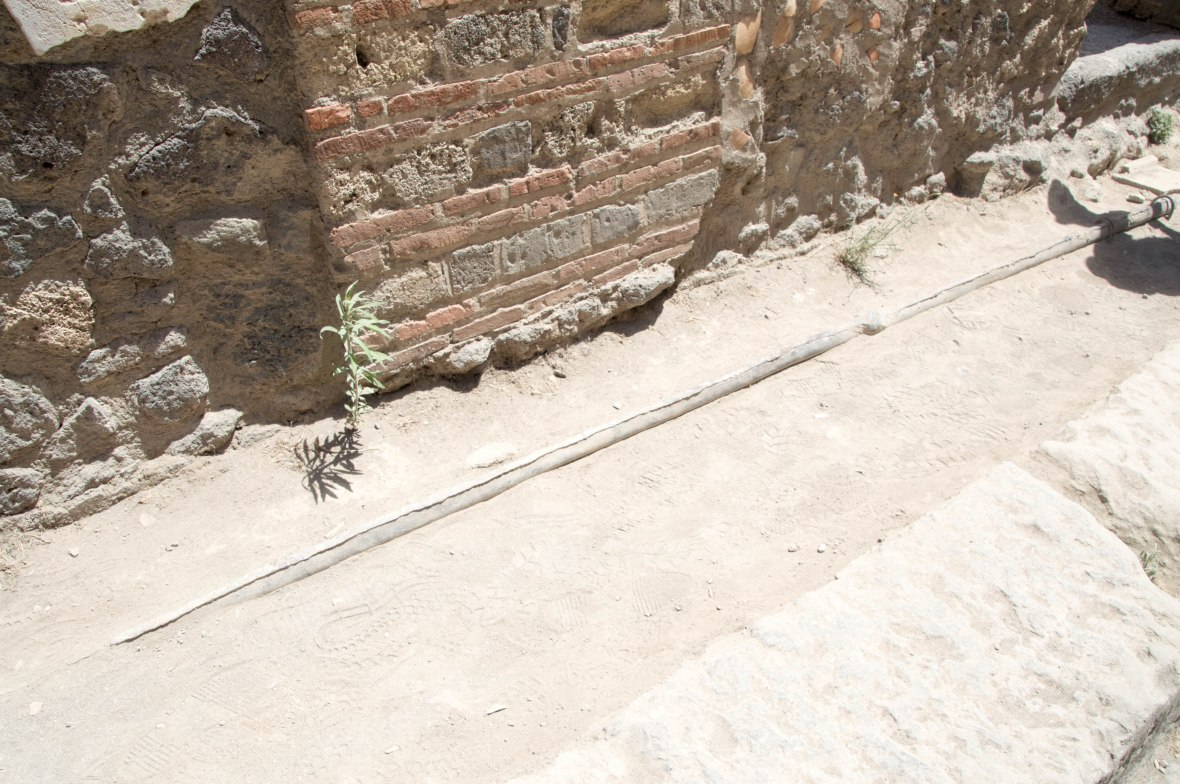 Waterpipe, Pompeii, Italy