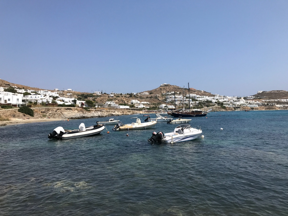 Agios Ioannis Diaoftis, Mykonos, Greece