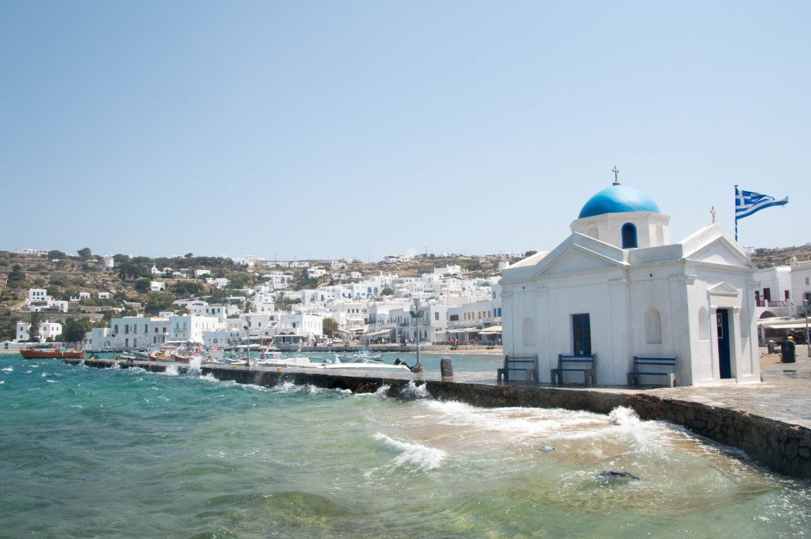 Agios Nikolaos Church, Mykonos, Greece