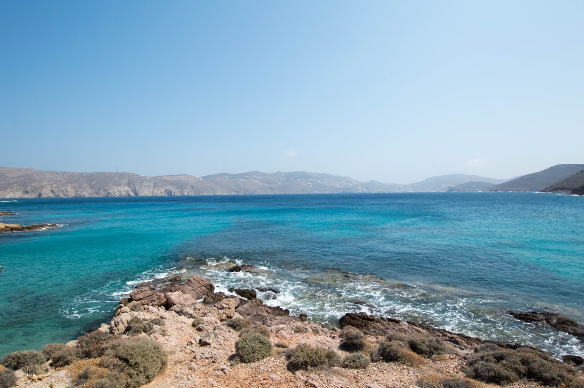 Agios Sostis Beach, Mykonos, Greece
