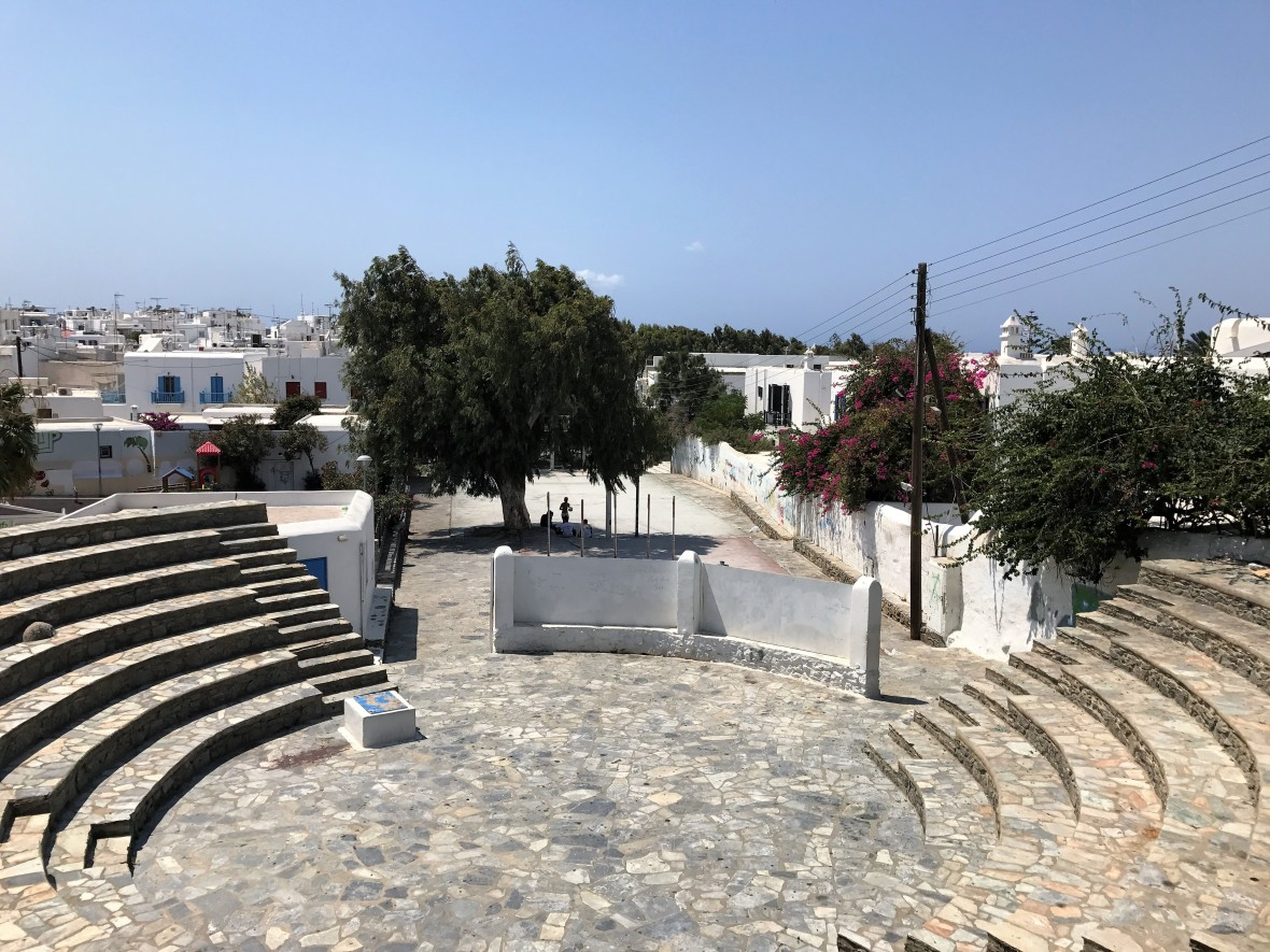 Amphitheatre, Mykonos, Greece