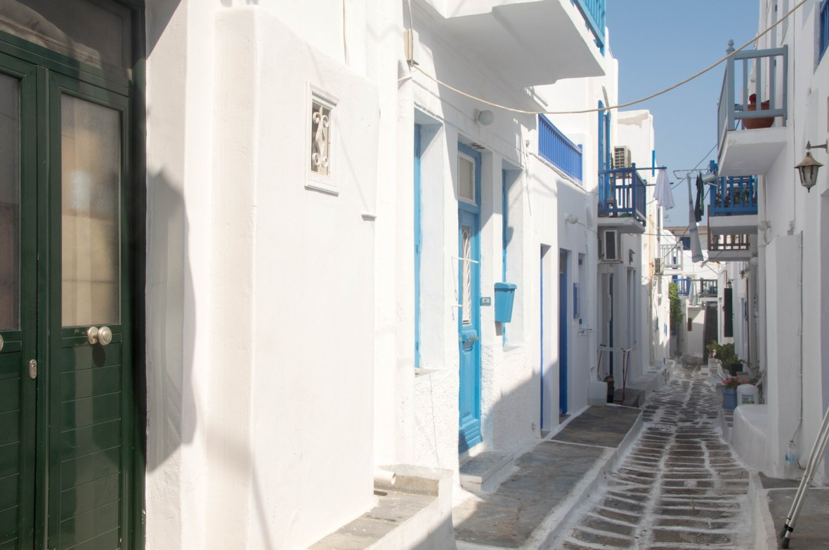 Exploring Mykonos, Greece