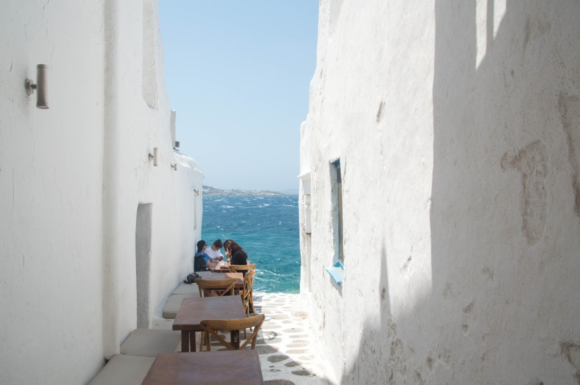 Exploring Mykonos Town, Greece