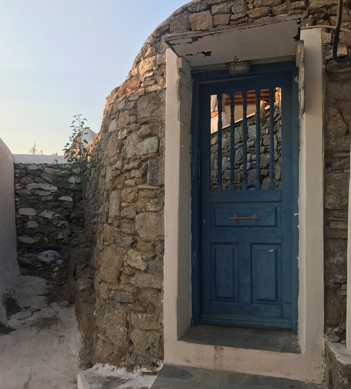 Front Door Goals, Mykonos, Greece