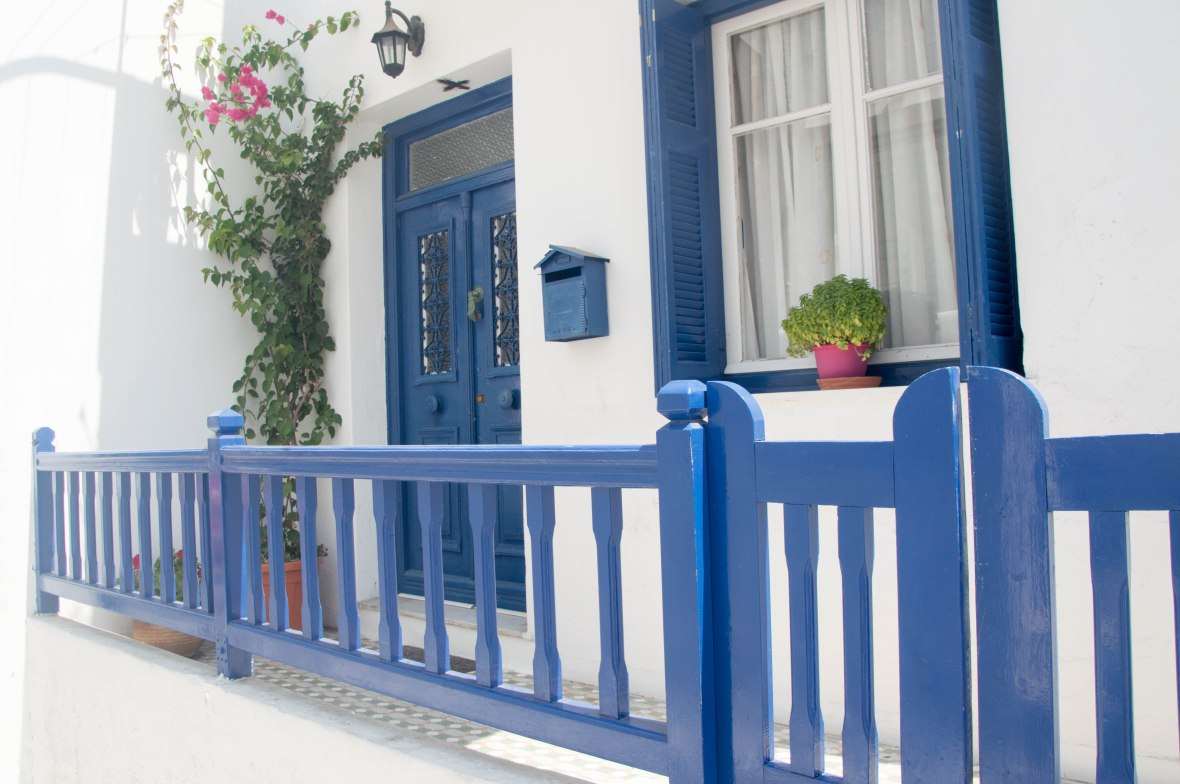 Front Porch, Mykonos, Greece