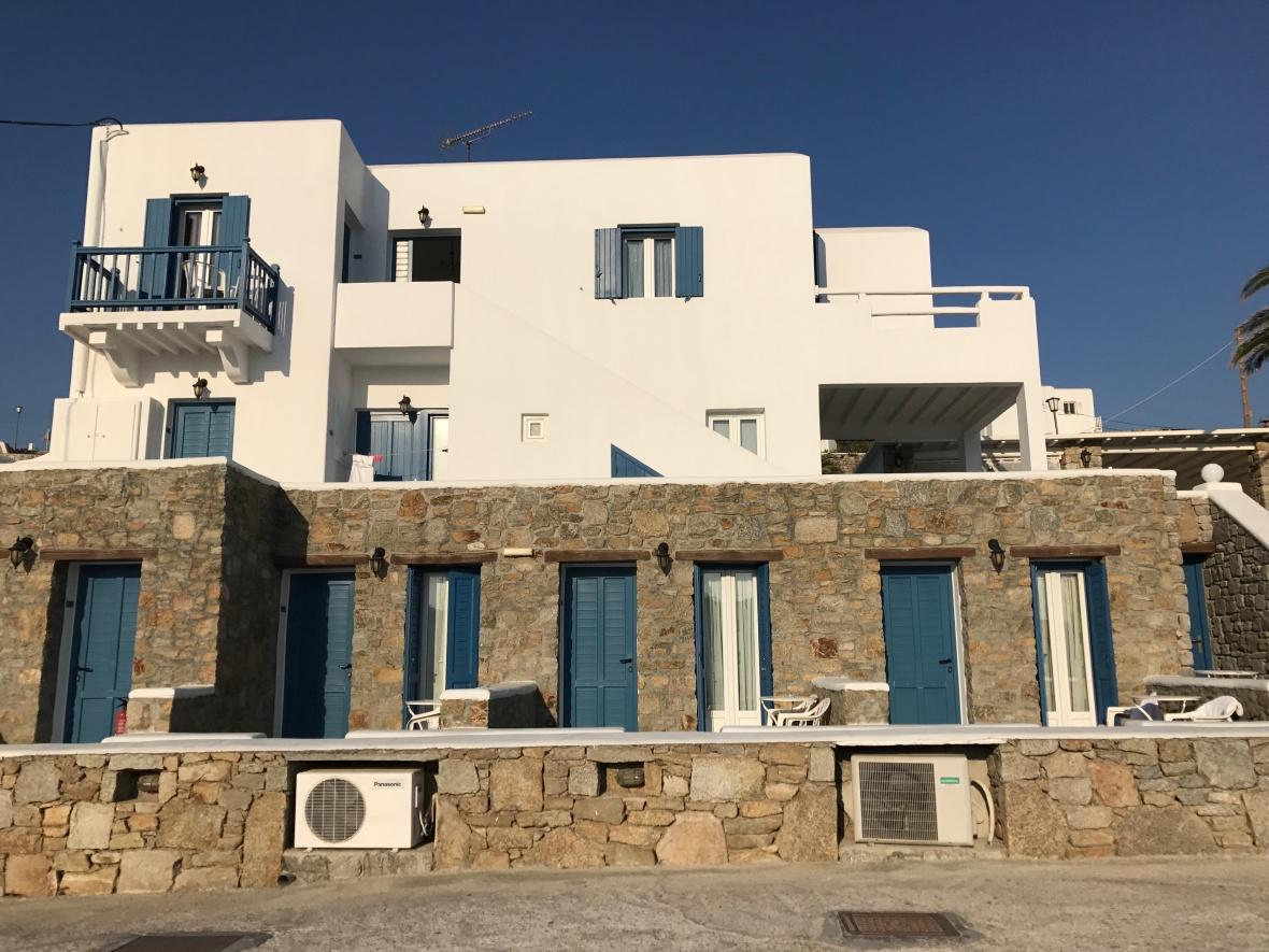 Hotel Anixi, Mykonos, Greece