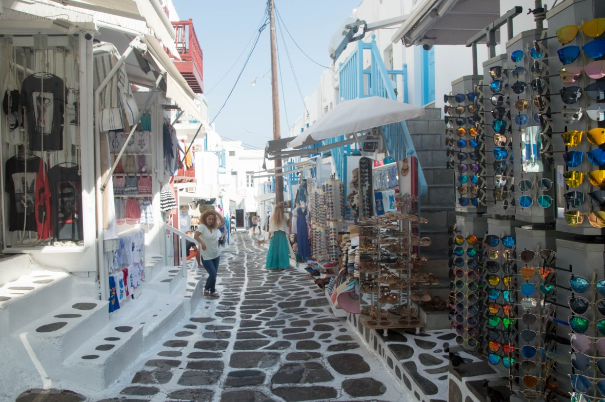 Shopping, Mykonos, Greece