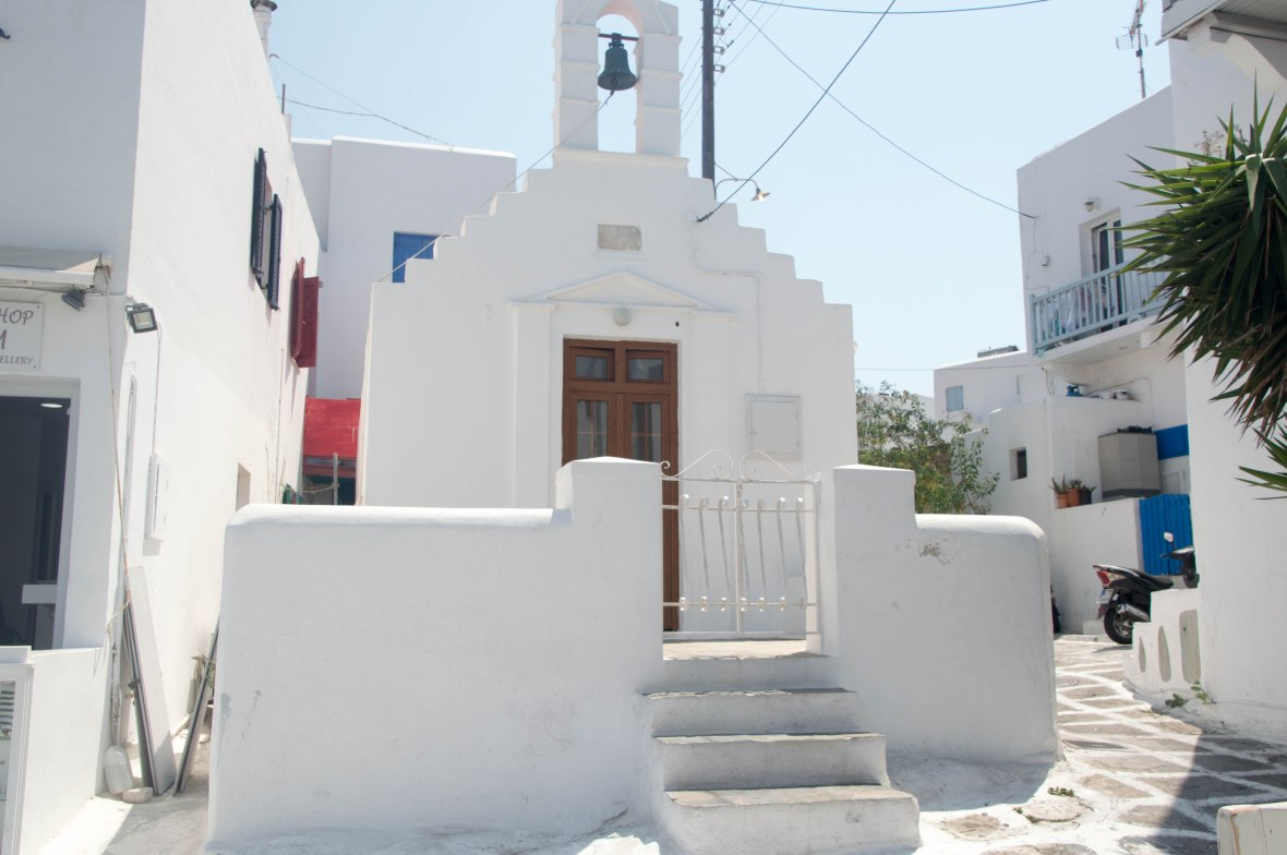 Small Church, Mykonos Town, Greece