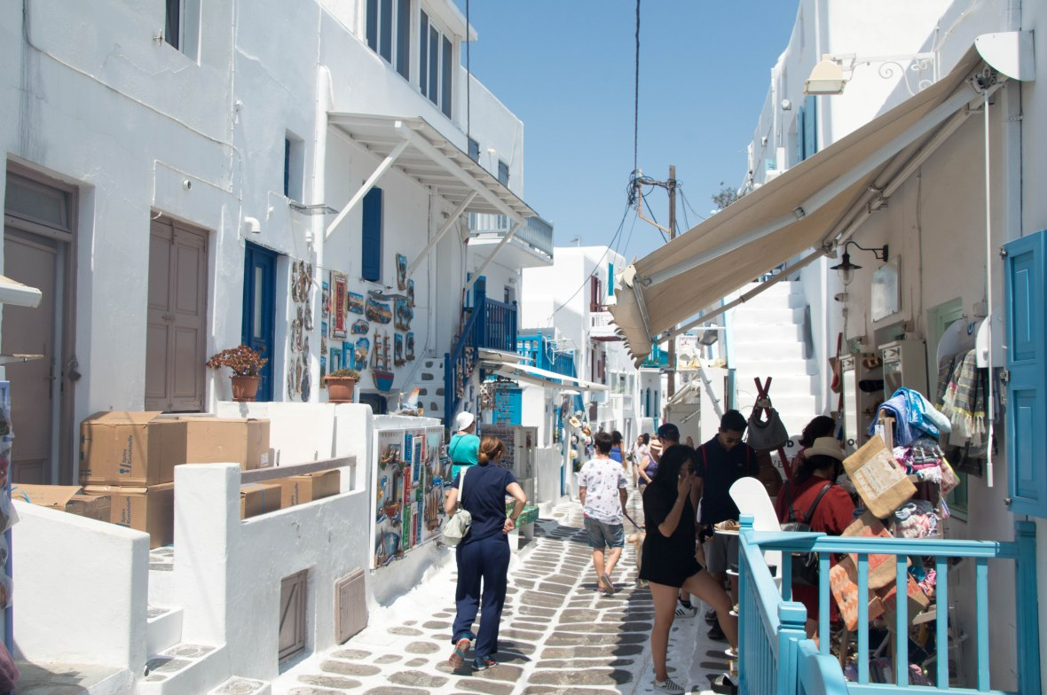 Souvenir Shops, Mykonos, Greece