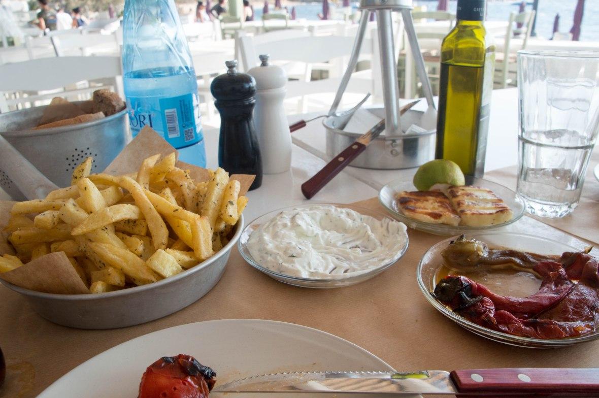 Starters, Sardelaki, Mykonos, Greece