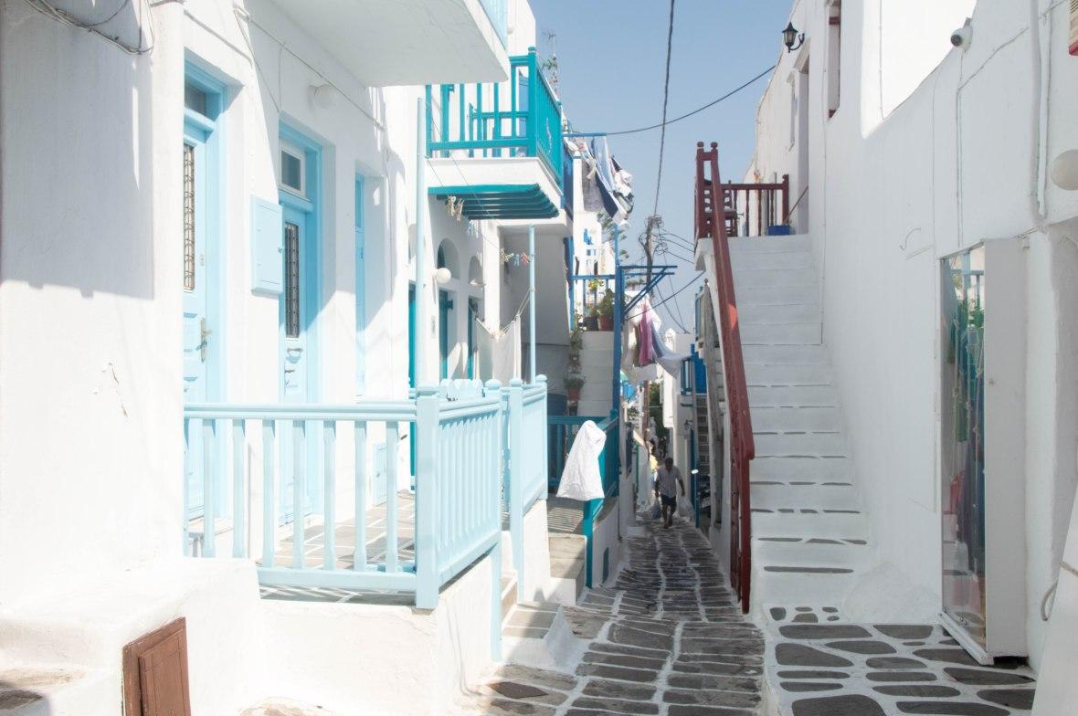 Street Life, Mykonos, Greece