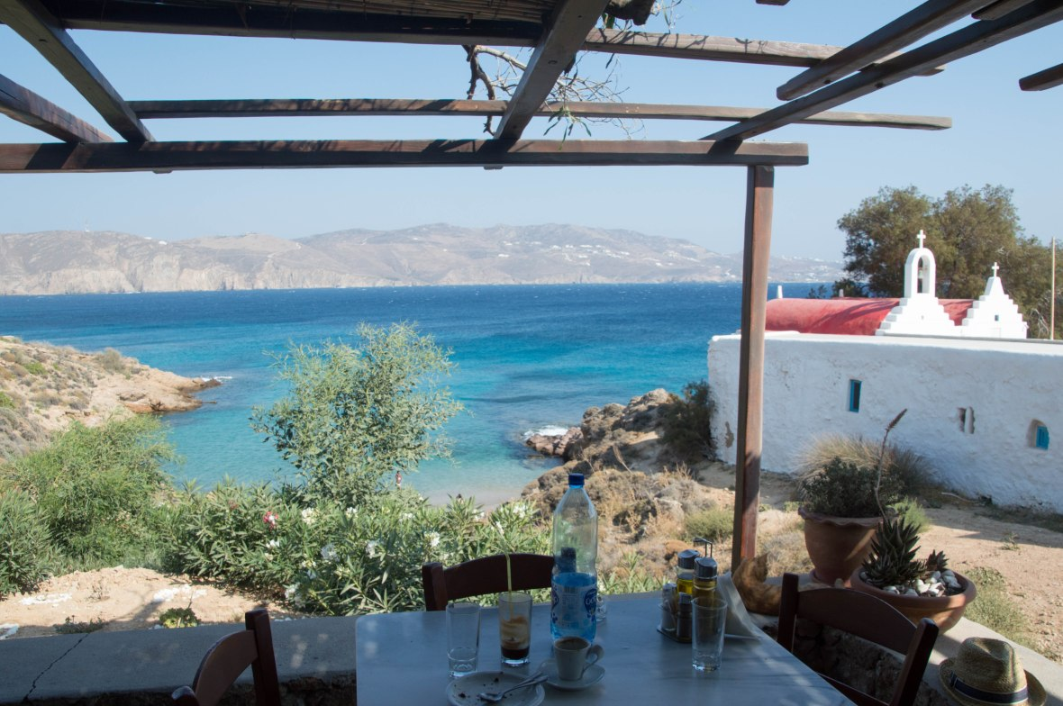 View From Kiki's Tavern, Mykonos, Greece