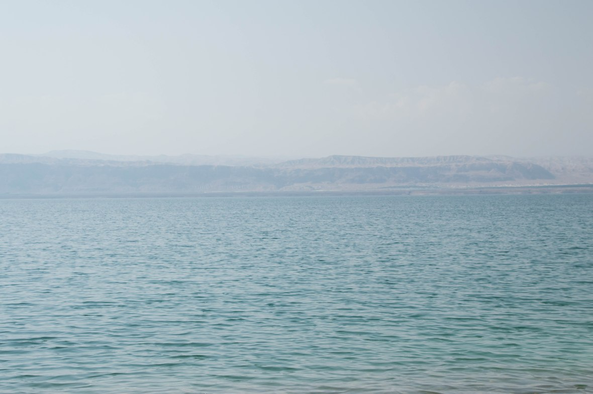 Banks Of Israel From The Dead Sea, Jordan
