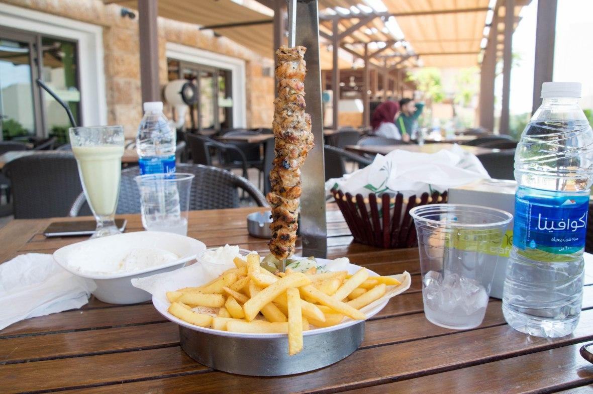 Chicken Shawarma, Pastich Café, Samarah Mall, Jordan