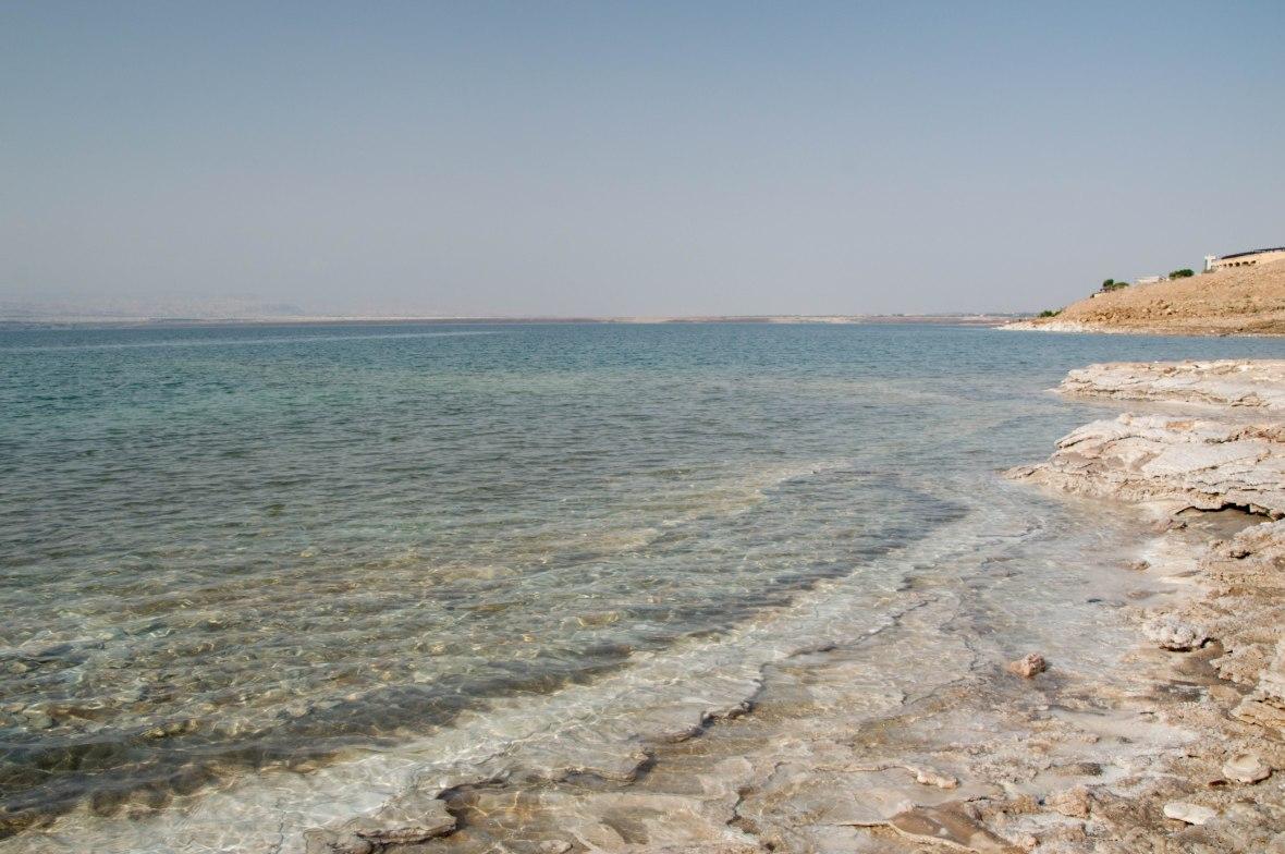 Coastline, Dead Sea, Jordan