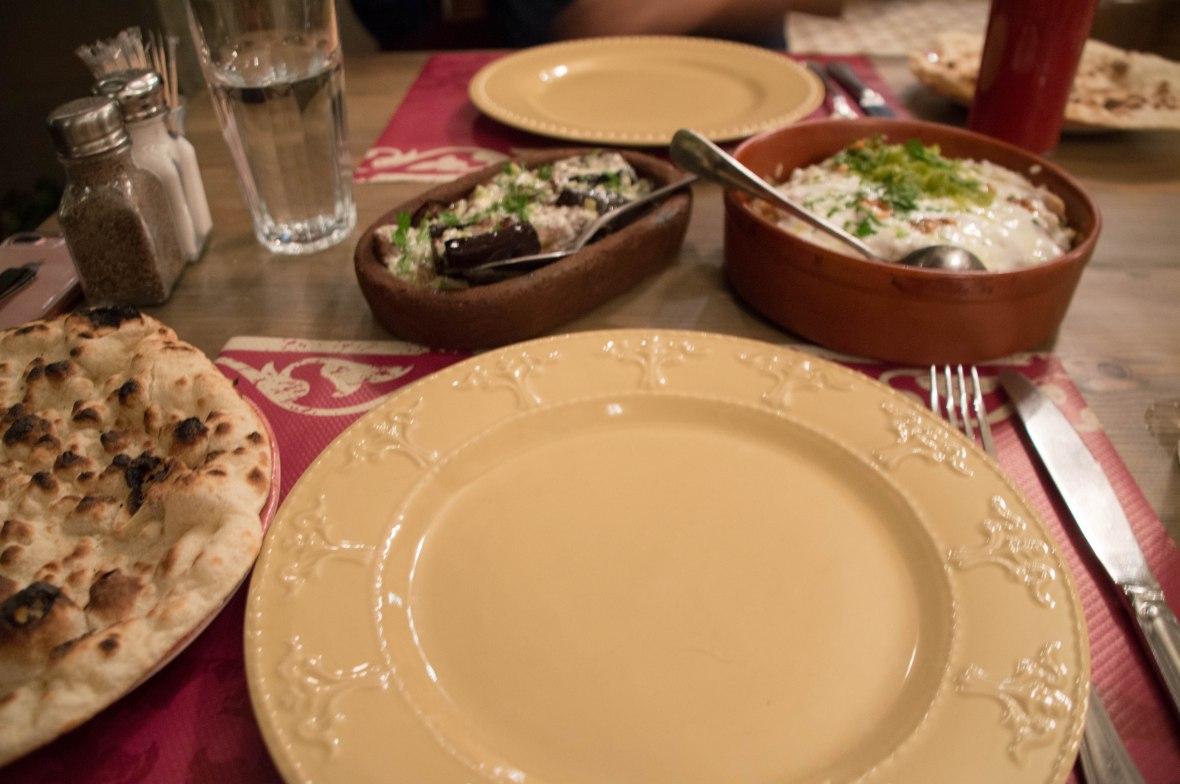 Dinner, Sufra, Amman, Jordan