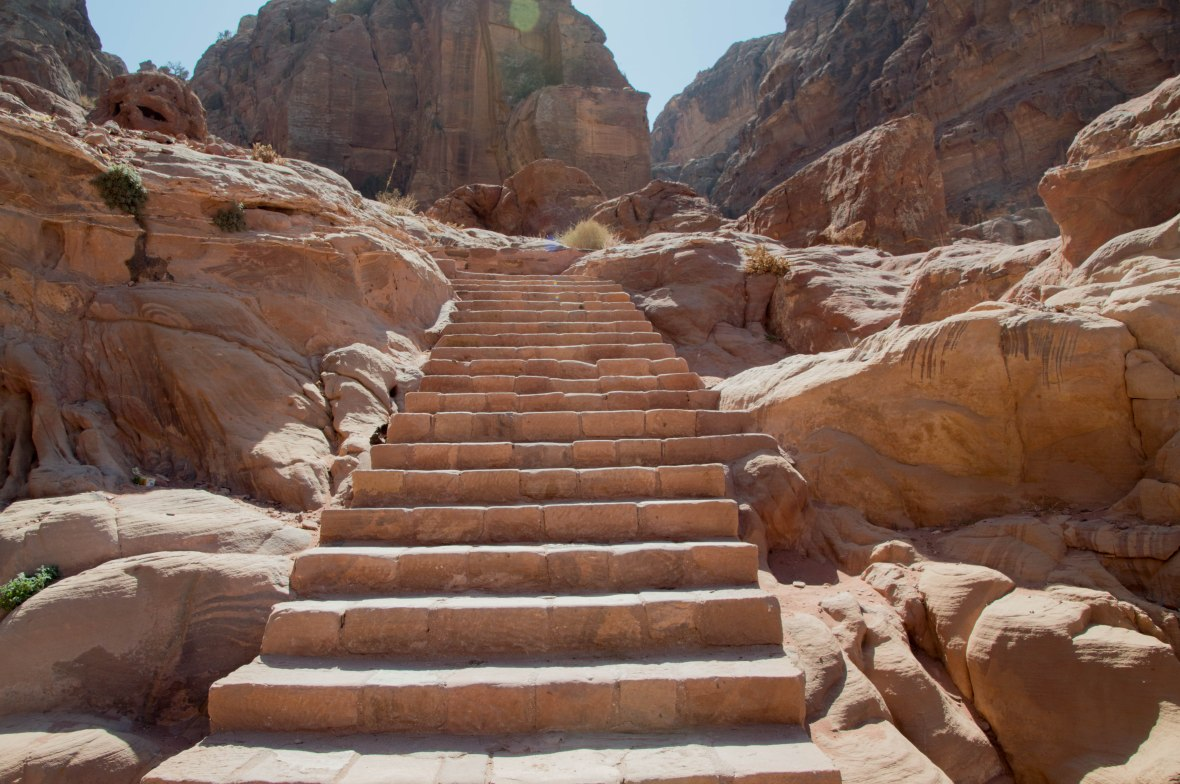 Endless Stairs, Petra, Jordan
