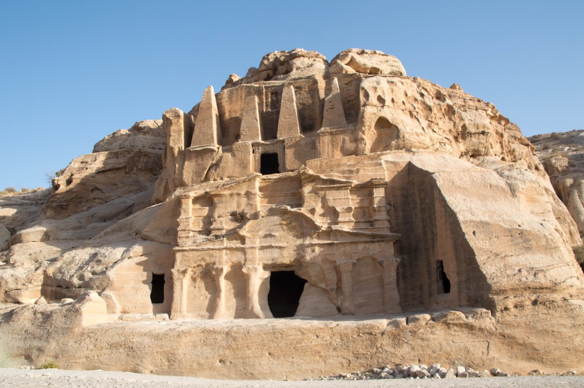 Facades, Petra, Jordan
