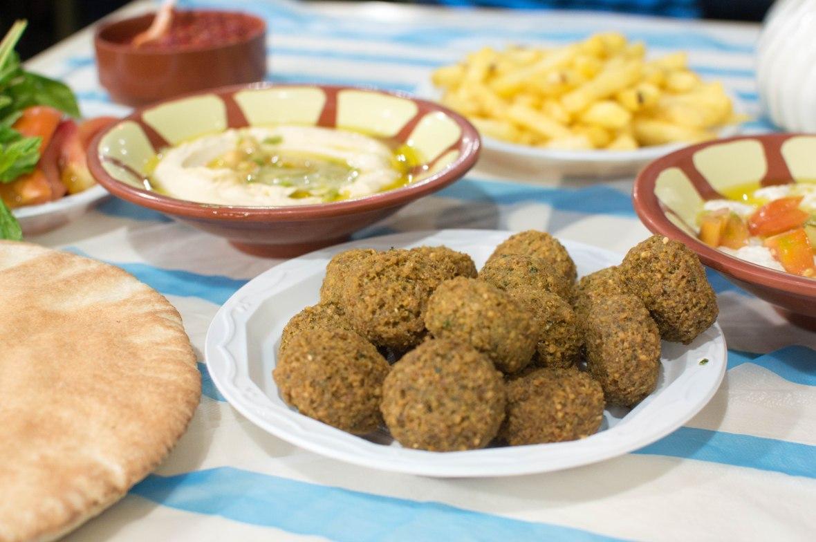 Falafel, Hashem Restaurant, Amman, Jordan