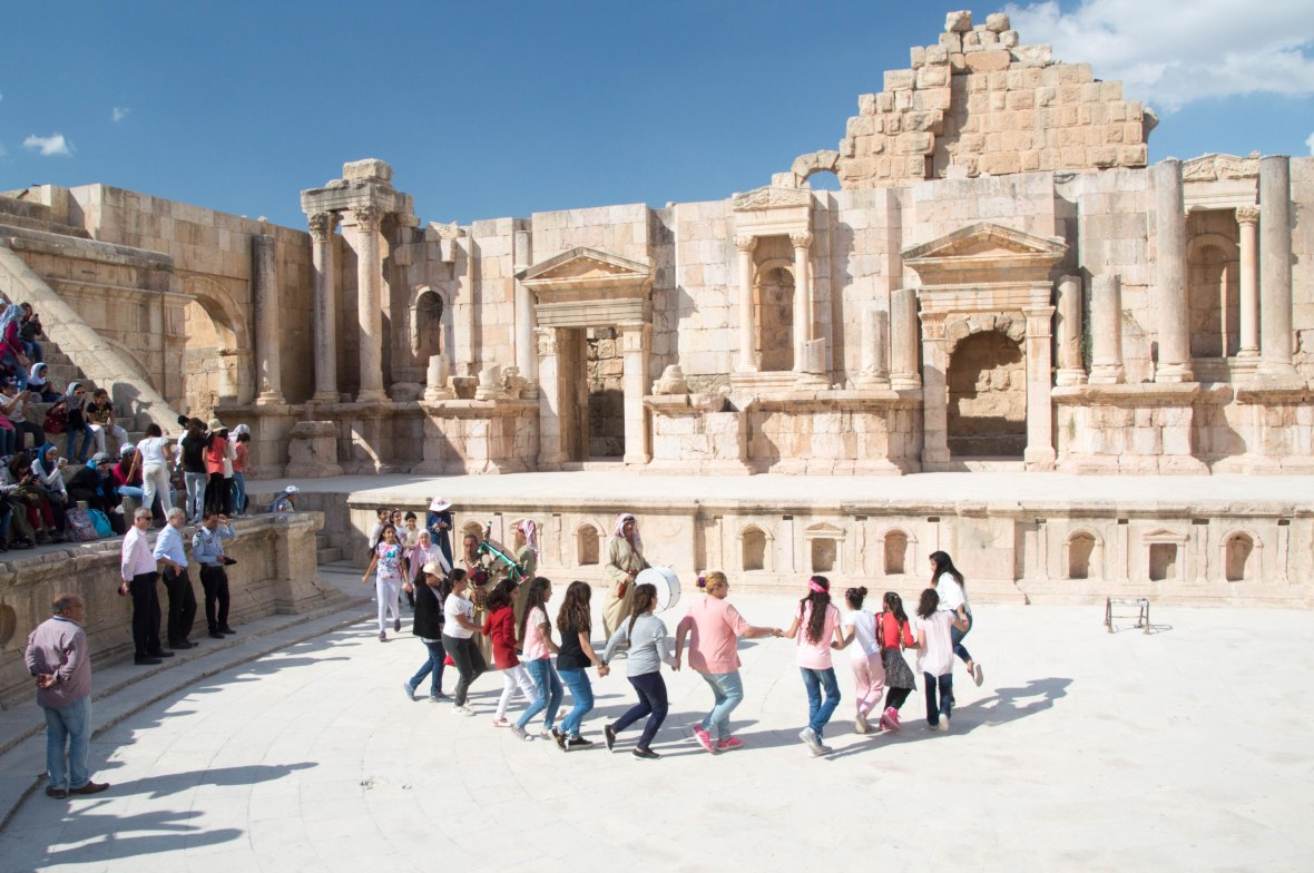Performance, South Theatre, Jerash, Jordan