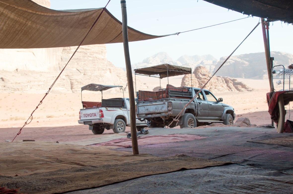 Pit Stop, Wadi Rum Desert, Jordan